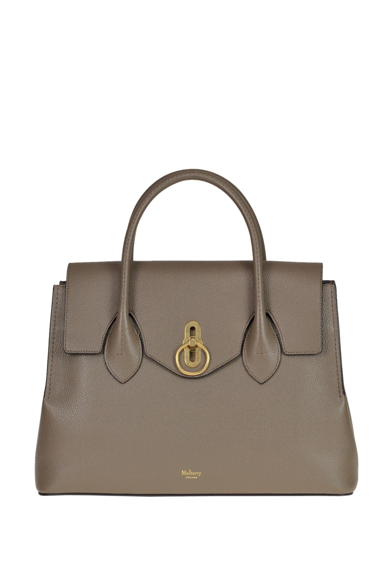 Mulberry Seaton Classic Tote Bag In Dove-Grey