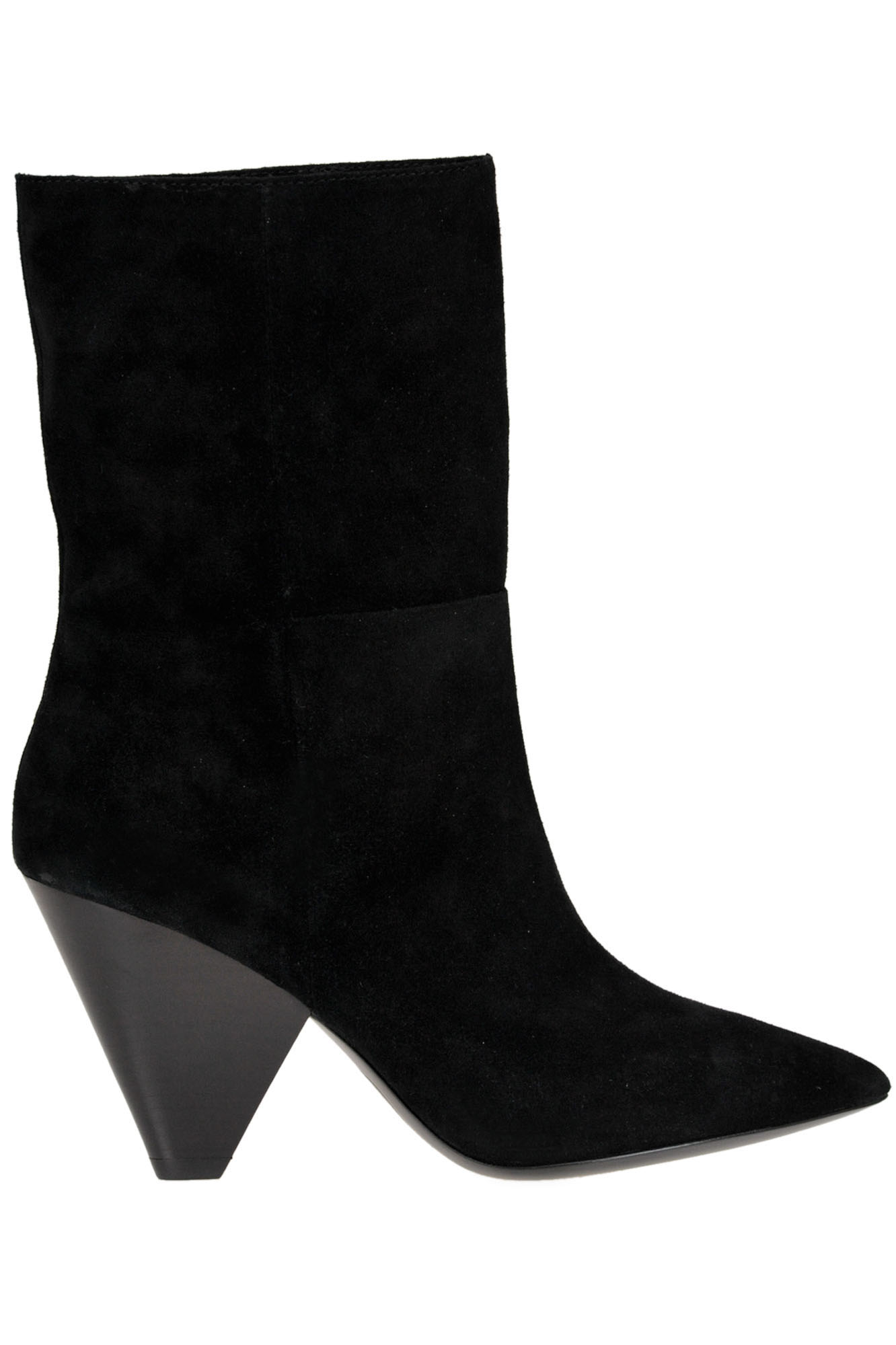 Ash Suede Ankle-boots In Black