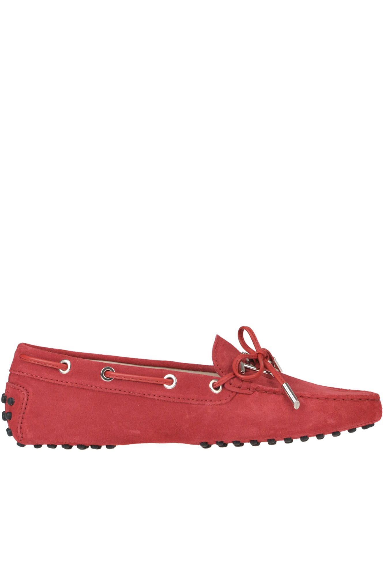 af5bb7a0544a2 Tod's 'Heaven' Suede Loafers In Fire Red | ModeSens