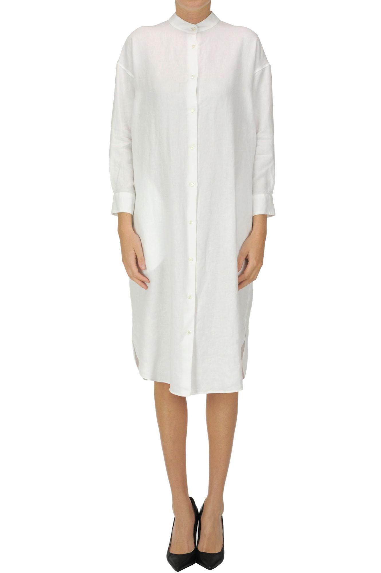 Aspesi LINEN SHIRT DRESS