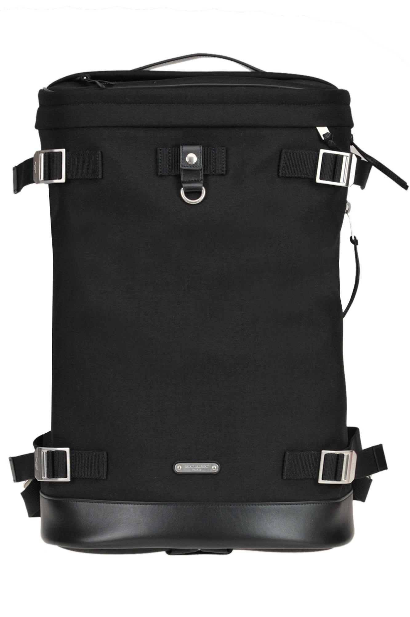 Saint Laurent Rivington Race Backpack In Black