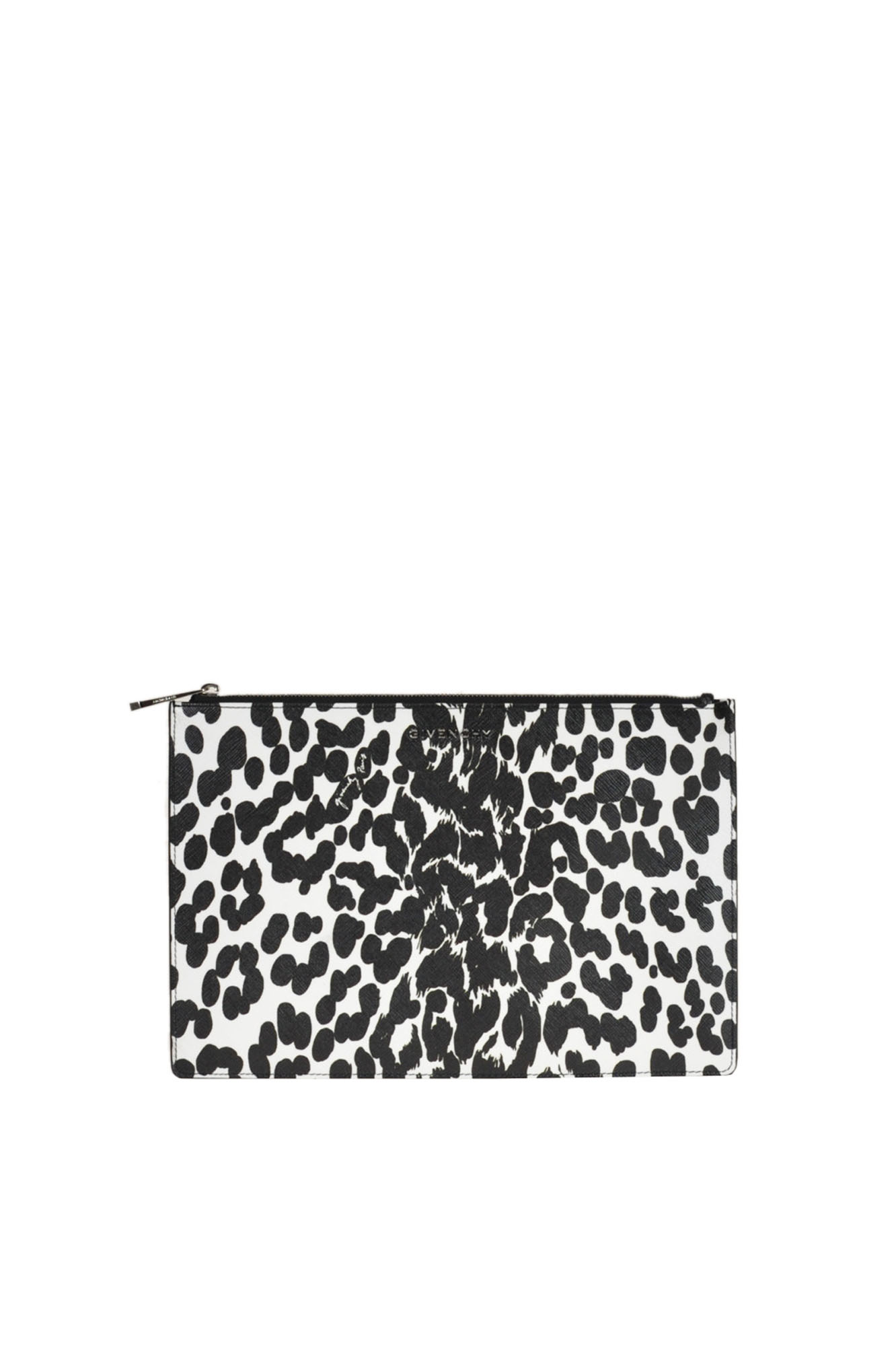 Givenchy 'Iconic Print' Pouch In White