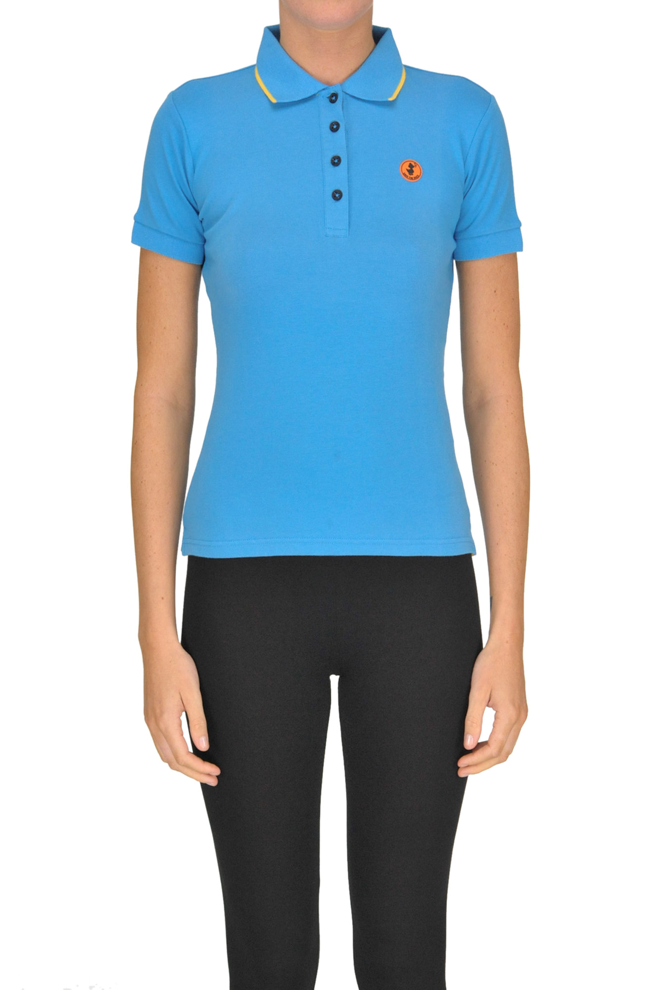 Save The Duck STRETCH COTTON POLO SHIRT
