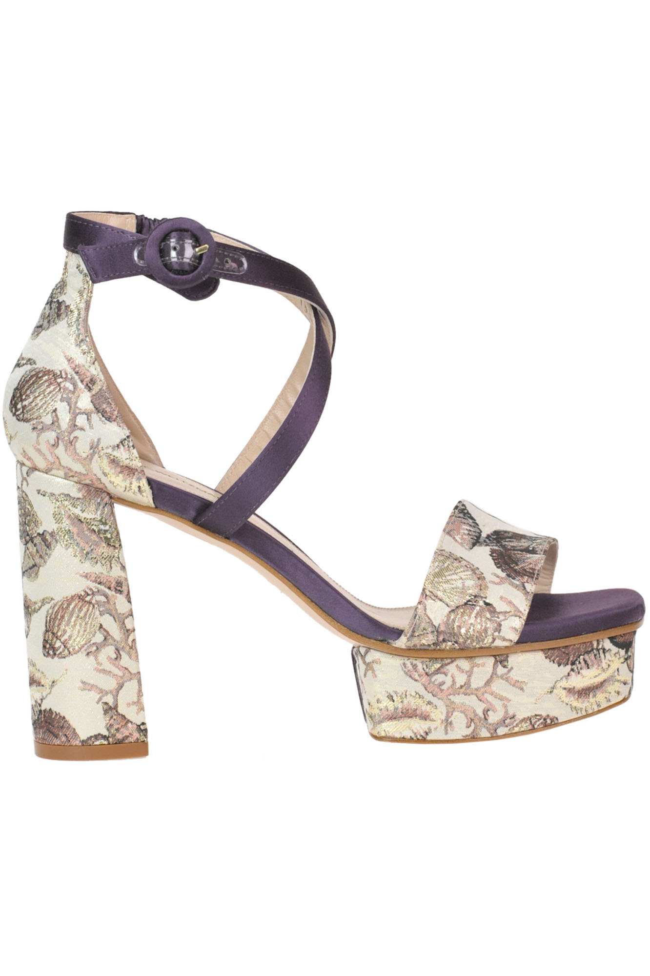 Stuart Weitzman 'Carla' Sandals In Multicoloured