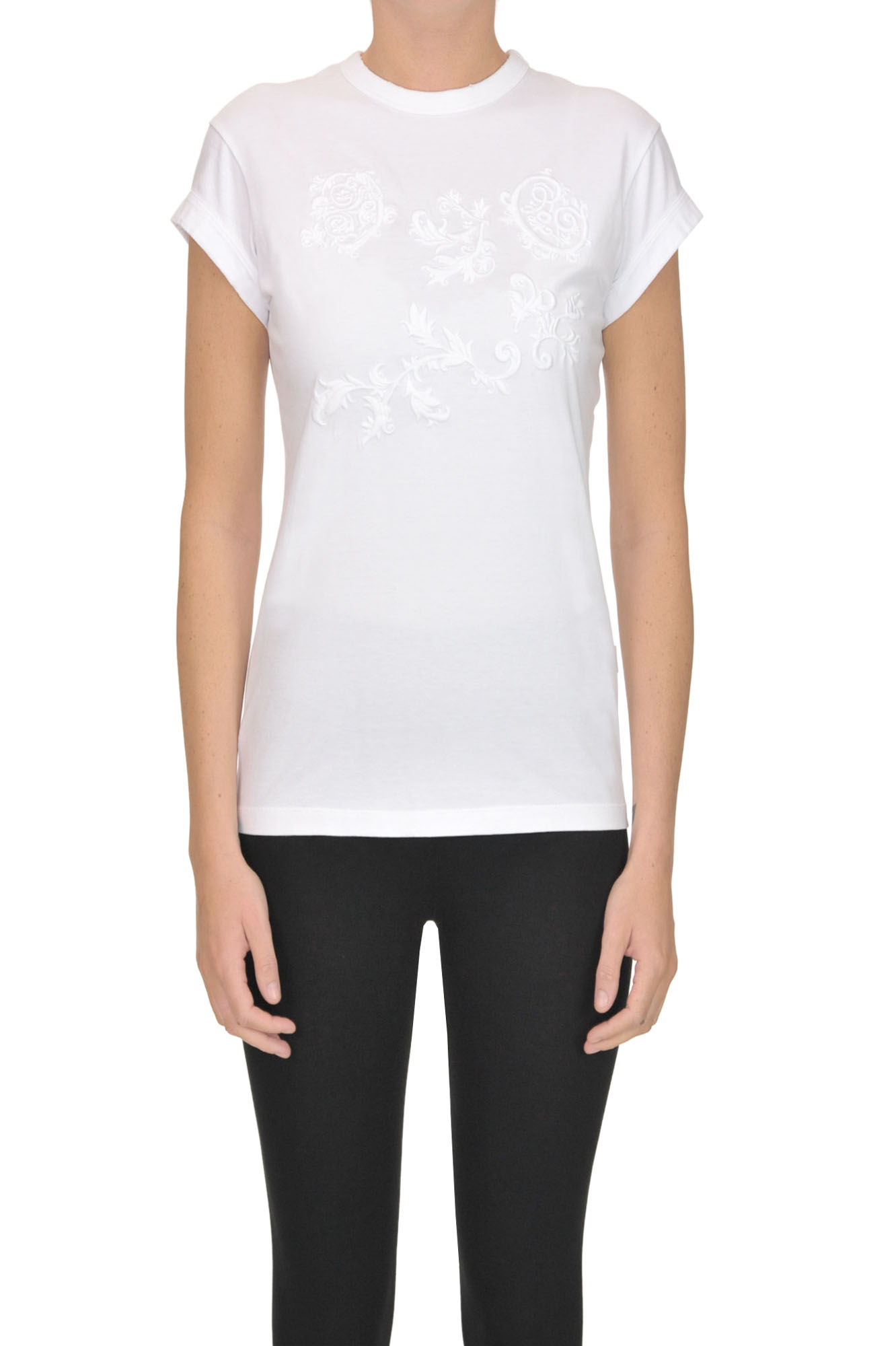 ChloÉ Embroidered T-Shirt In White