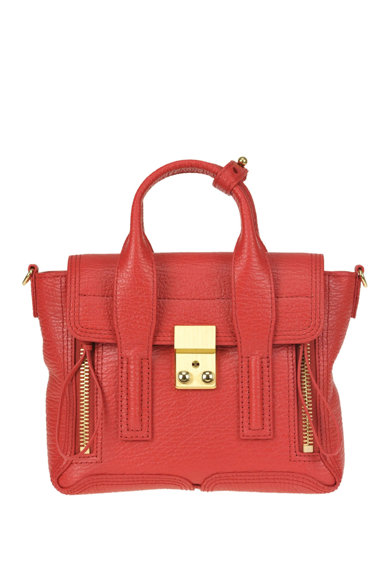 3.1 Phillip Lim  Pashli  Mini Satchel Bag In Red  199465b77