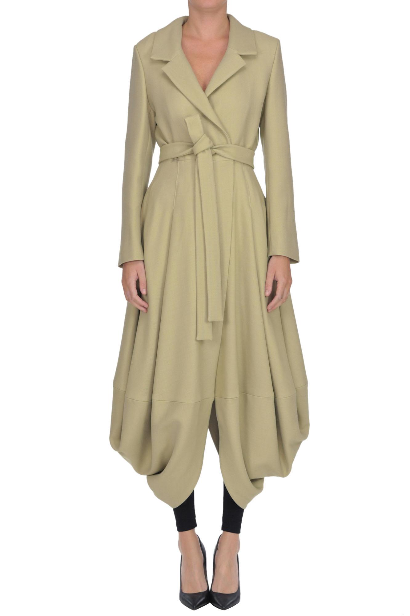 Jacquemus 'Souela' Wool-Blend Coat In Beige