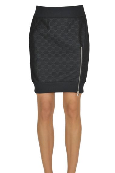 00ee0f6cd Moschino Couture Neoprene mini skirt - Buy online on Glamest.com ...