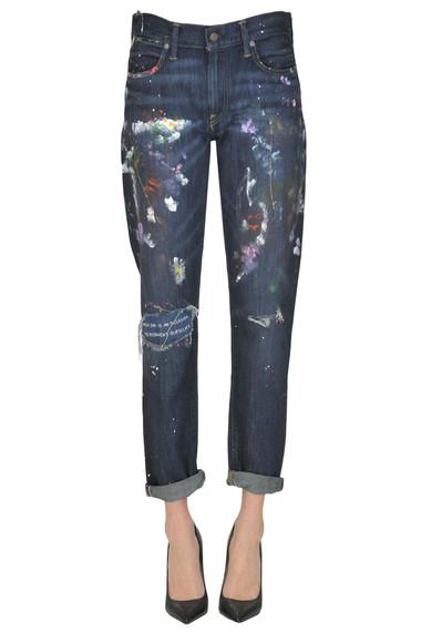 548a37342d10 Polo Ralph Lauren Astor boyfriend jeans - Buy online on Glamest.com ...