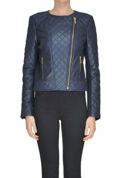 5e8c443d517 Michael Michael Kors Quilted leather jacket - Buy online on Glamest ...
