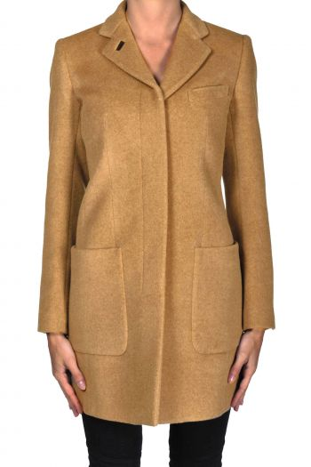 Dondup Virgin wool and camel hair coat - Buy online on Glamest.com ... 14a9cc7a5d4b