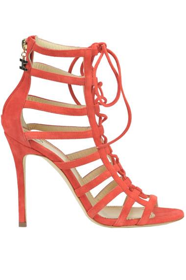 0b1a41f55 Elisabetta Franchi Suede sandals - Buy online on Glamest.com ...