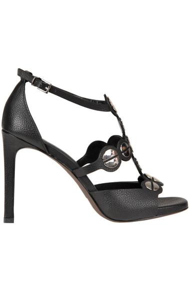174ee6e6b09b Lola Cruz Studded eather sandals - Buy online on Glamest.com ...