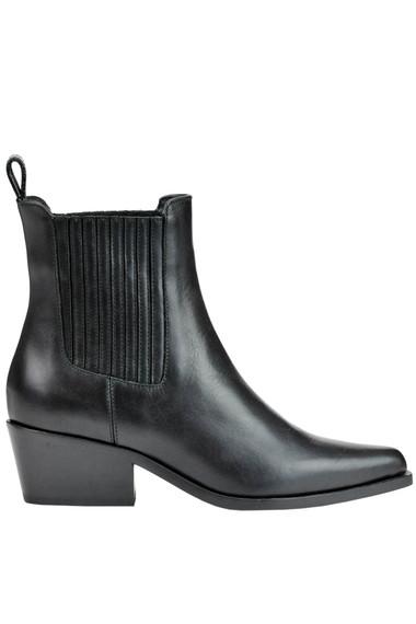 6f63ce33950 Diesel Black Gold Leather ankle boots - Buy online on Glamest.com ...