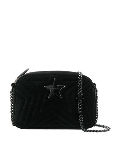 44c0b091d0 Stella McCartney Star Mini velvet camera bag - Buy online on Glamest ...