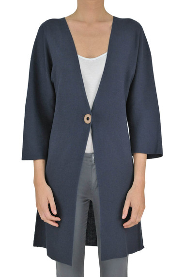 68320e33ecec Fabiana Filippi Cotton maxi cardigan - Buy online on Glamest.com ...