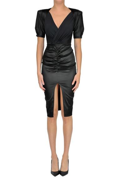 new product fb922 d020f Satin sheat dress