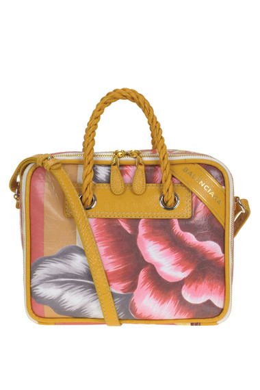 1757152e55 Balenciaga Flower print leather bag - Buy online on Glamest.com ...