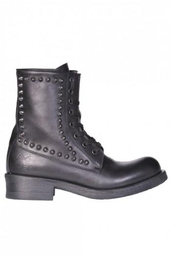 more photos 1c0e5 d5a29 Studded heavy-duty boots
