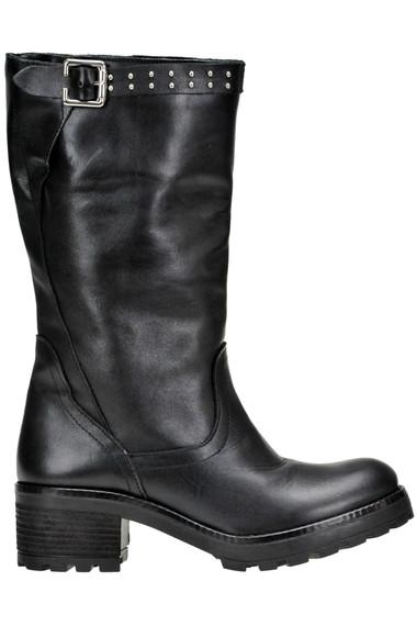 b8c9beda6a7ae Lavorazione Artigiana Leather biker boots - Buy online on Glamest ...