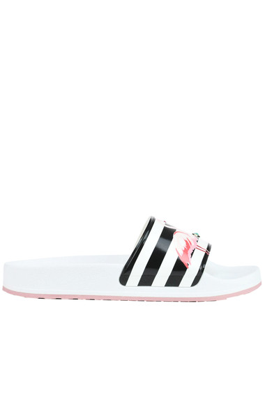 66d010baa0cc RED Valentino Printed rubber slides - Buy online on Glamest.com ...
