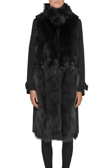 online retailer ba355 195e2 Cappotto con pelliccia