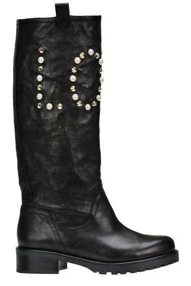 finest selection cf6ee 11121 Embellished leather boots