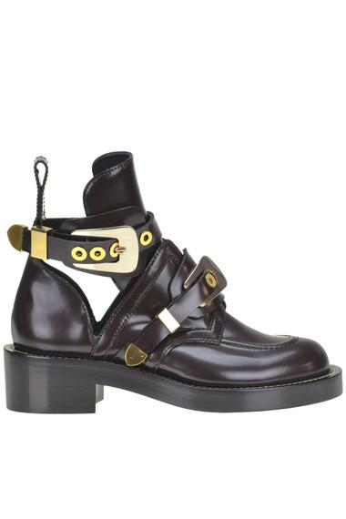 5fca37f25fab Balenciaga Ceinture leather boots - Buy online on Glamest.com ...
