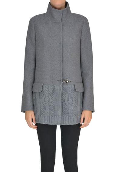 sale retailer 0e839 eb92c Knitted insert coat