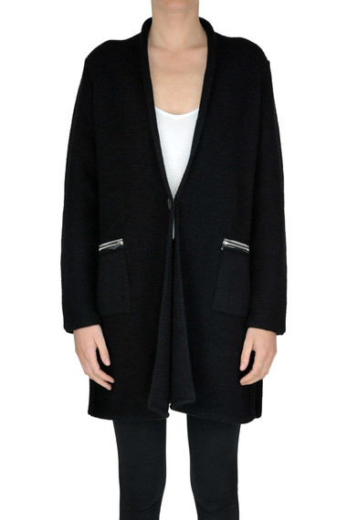 d5bb93a1a2de Fabiana Filippi Wool-blend maxi cardigan - Buy online on Glamest.com ...