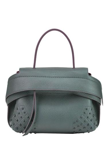 ae0a3714af1f Tod s. Wave Mini leather shoulder bag