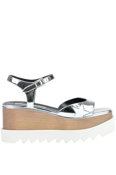 3e11cf03a89 Stella McCartney Elyse Indium wedge sandals - Buy online on Glamest ...
