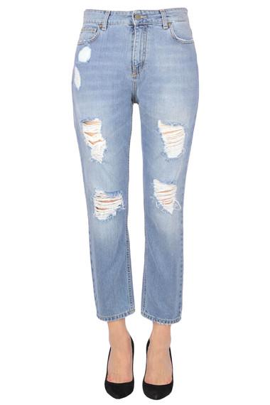 seleziona per genuino vendita economica La migliore vendita del 2019 Up Jeans Destroyed jeans - Buy online on Glamest.com - Glamest.com ...