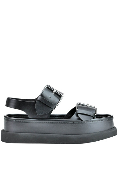 e4d5a37f9c2 Stella McCartney Pamir eco-leather wedge sandals - Buy online on ...