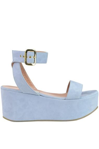 a2c3b8fad L Autre Chose Suede wedge sandals - Buy online on Glamest.com ...