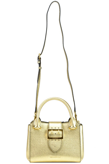 Burberry Metallic effect leather tote bag - Buy online on Glamest ... a190e089e0