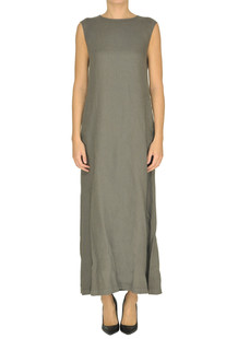 Linen long dress Aspesi