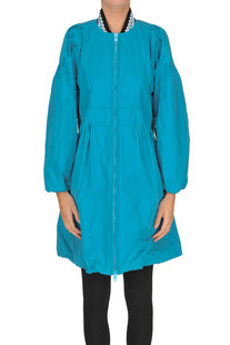 Techno fabric raincoat Ermanno Scervino