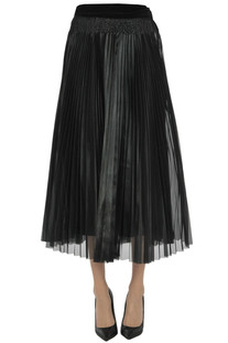Pleated organza skirt Forte_Forte