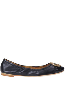 Minnie leather ballerinas Tory Burch