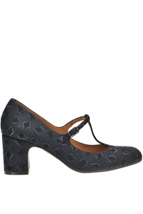 Textured suede pumps Chie Mihara