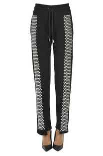Studded fleece trousers Odi et Amo