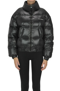 Cropped quilted down jacket Chiara Ferragni