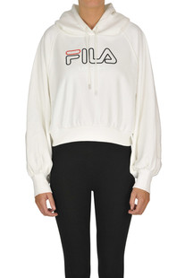 Cropped hooded sweatshirt Fila