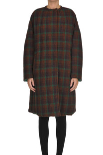 Reversible checked print coat Isabel Marant
