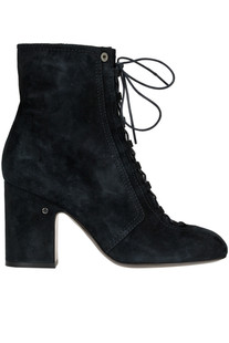 Milly suede la up ankle-boots Laurence Decade