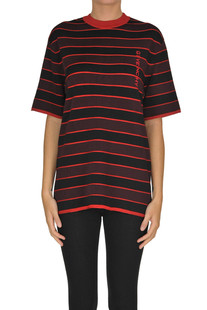 Striped viscose pullover Givenchy