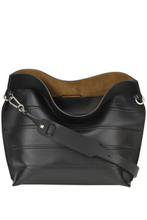 Strip leather bag Loewe