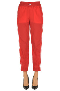 Nylon jogging trousers Patrizia Pepe