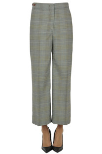 Prince of Wales print trousers Sportmax